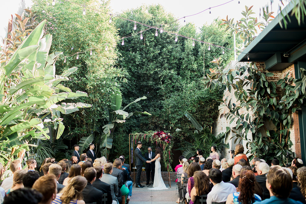 Eclectic Industrial Bohemian Millwick Wedding, Downtown Los Angeles Venue
