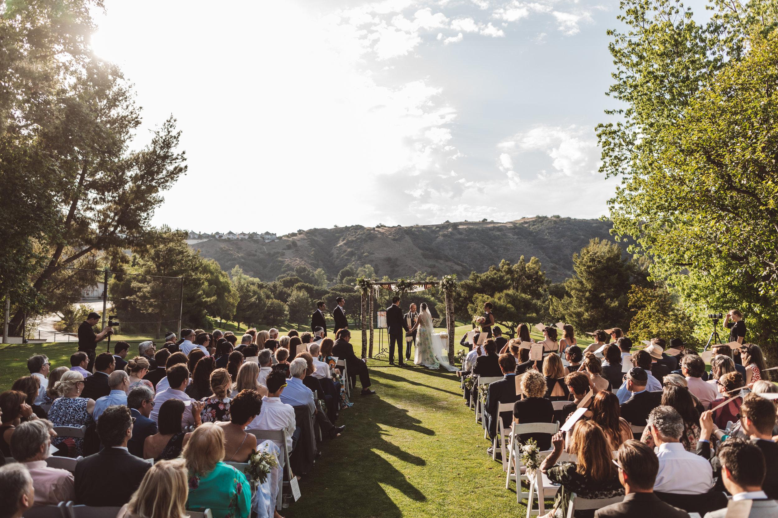 mountaingate-country-club-jewish-luxury-wedding-ceremony