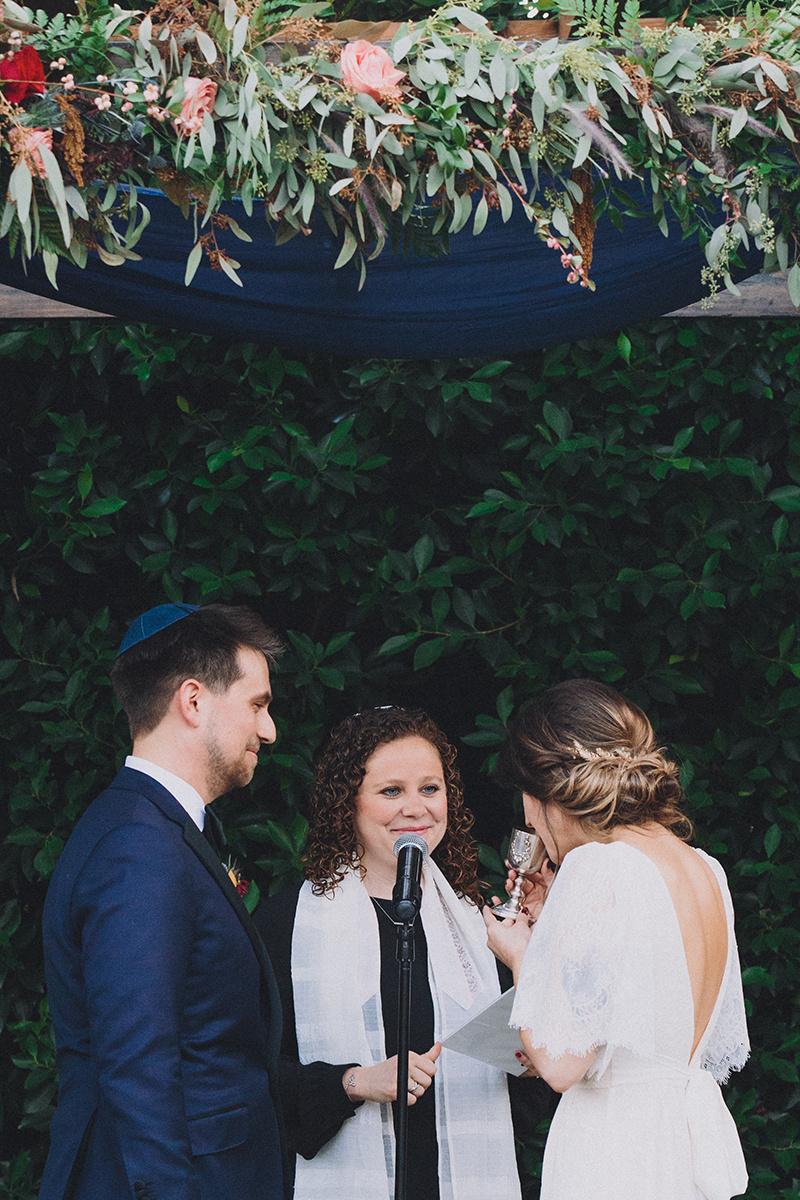 Kiddush Cup,  Jewish Wedding Ceremony Photographer:  Mandee Johnson