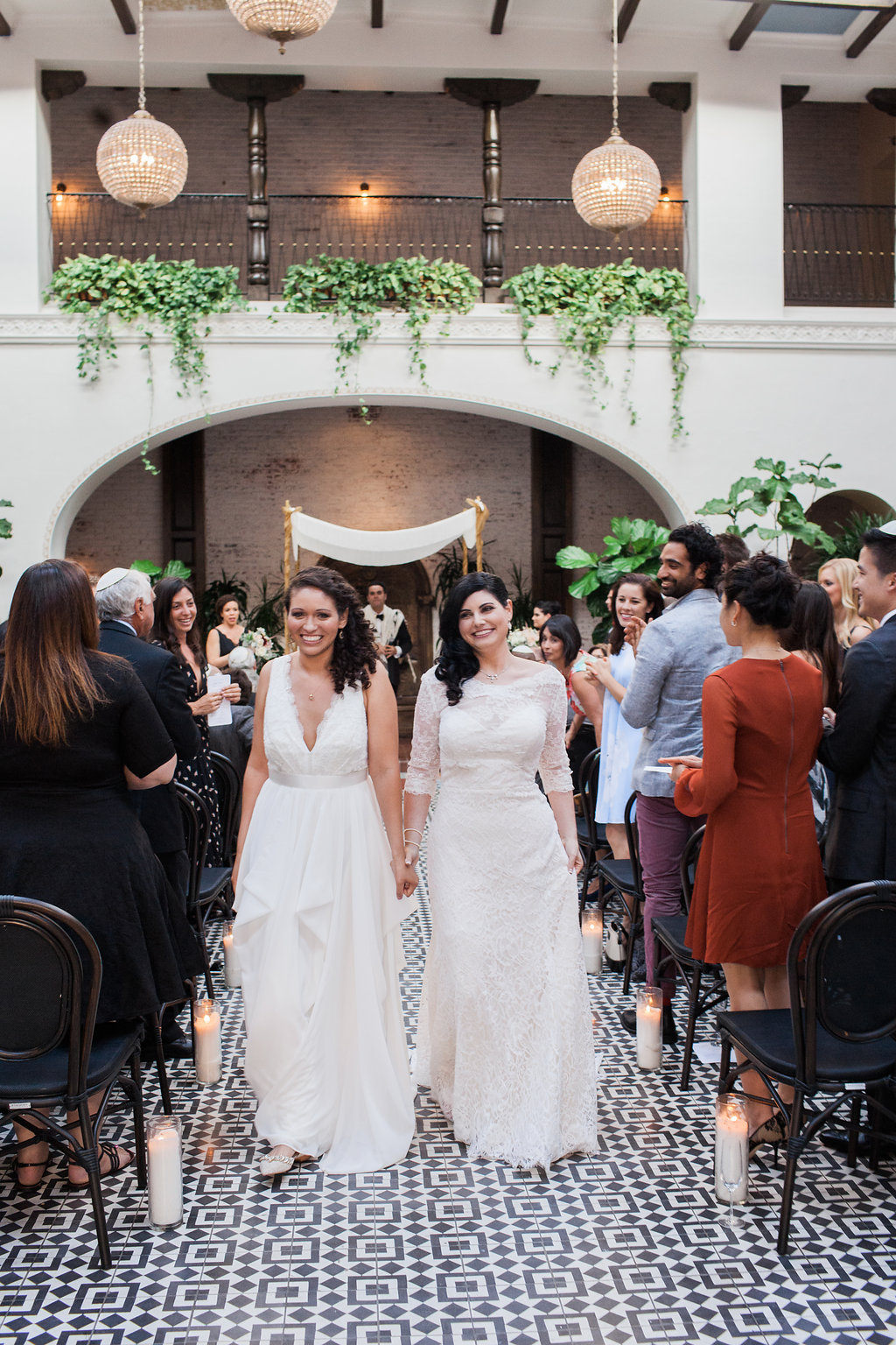 Recessional  at The Ebell Club of Long Beach, Photographer:  Casey Brodley