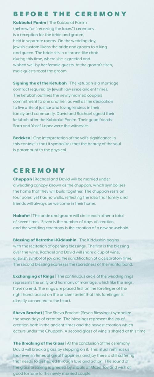 A Modern Jewish Wedding Ceremony Guide: Rituals, History