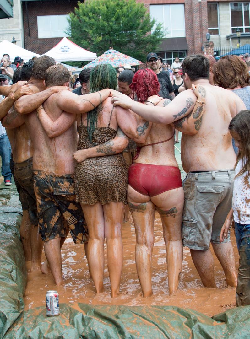 Mud Wrestling at Heavy Rebel Weekender 2017