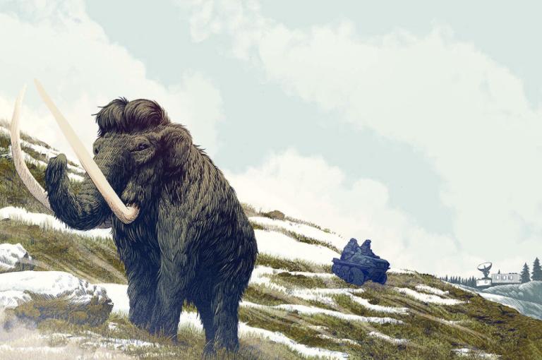 Feature essay on Pleistocene Park in Siberia for  The Atlantic 's April 2017 issue