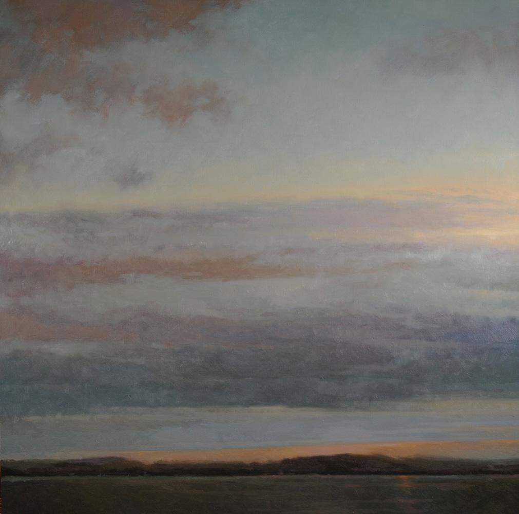Lake Morning 30x30-SOLD