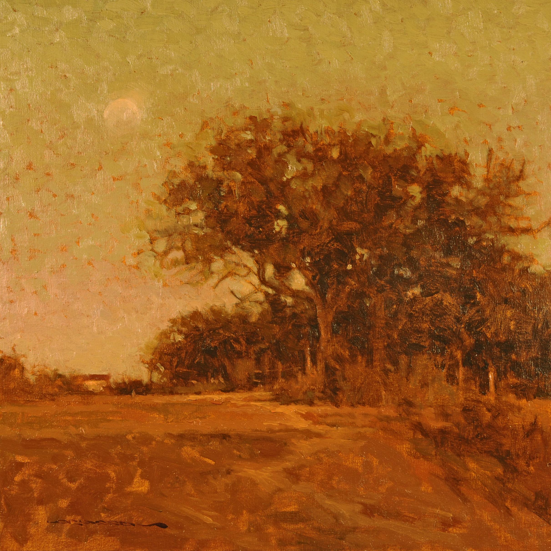 Autumn Moon  12x12 - SOLD