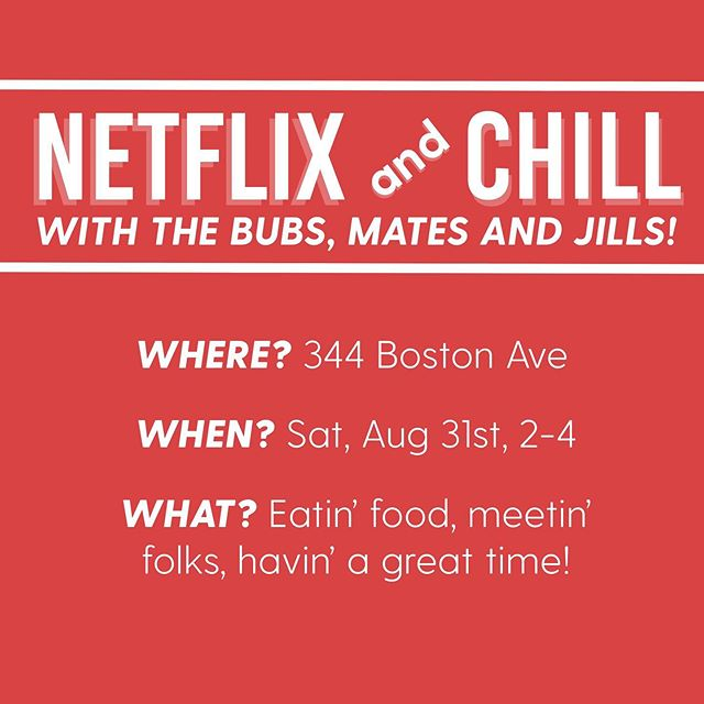 Do you like singing? Free food? Netflix? Some combination of those three things?! Drop by 344 Boston Ave (the apartments above tamper) any time between 2 and 4 pm today to come hang out with the Tufts Amalgamates, the Beelzebubs, and the Jackson Jills!!