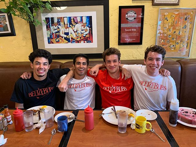 NEW GUYYYSSSSS!!!! We are SO excited to welcome Jaden Pena, Sid Iyer, Milo Shields, and Jacob Beiser to B'23!