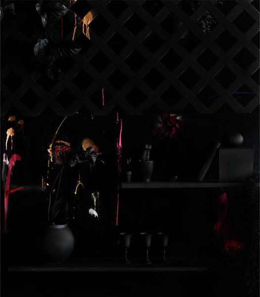 Blackscape, Archival Pigment Print, 42 x 52 inches, 2009