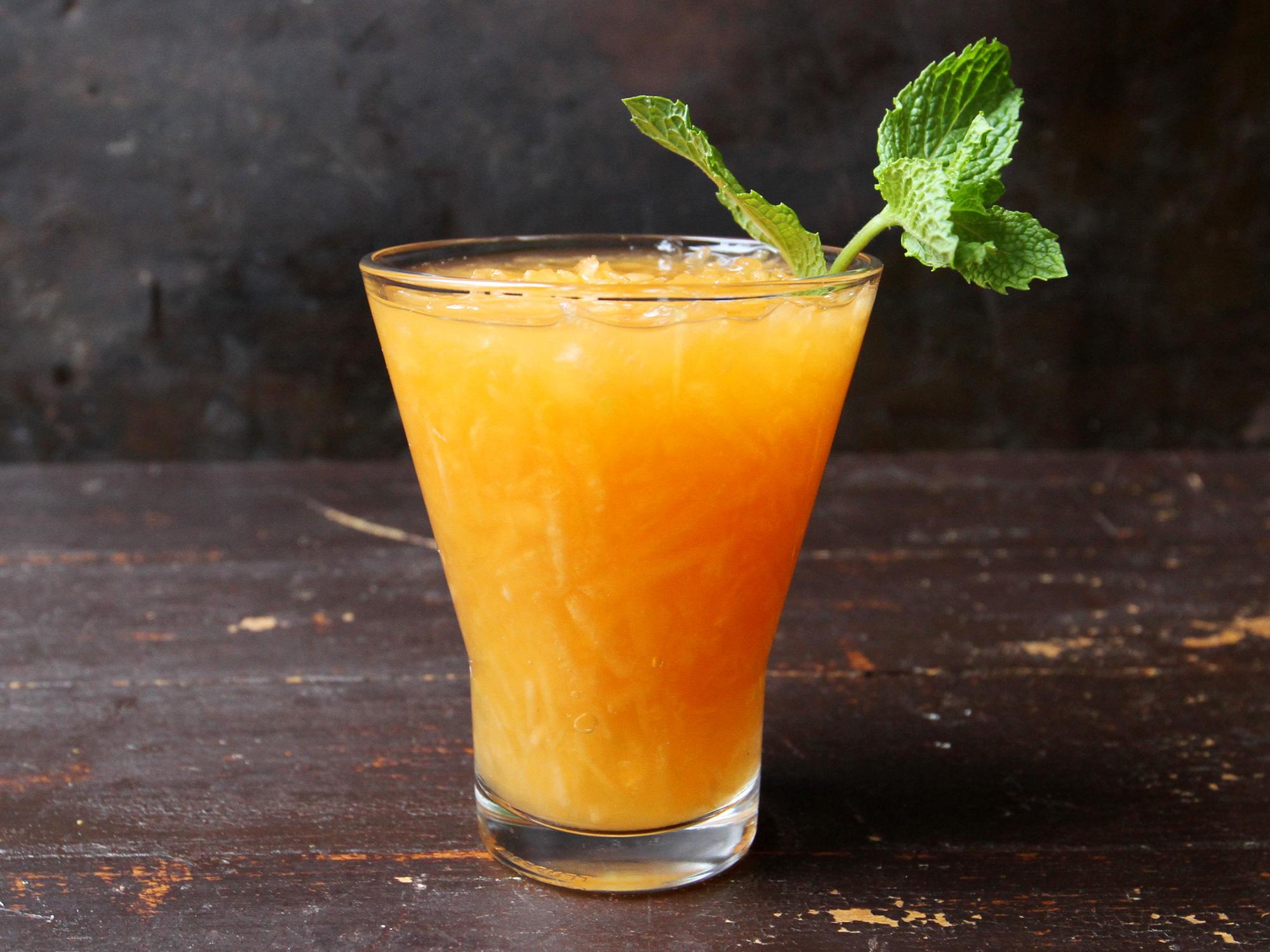 melon [cantaloupe juice]