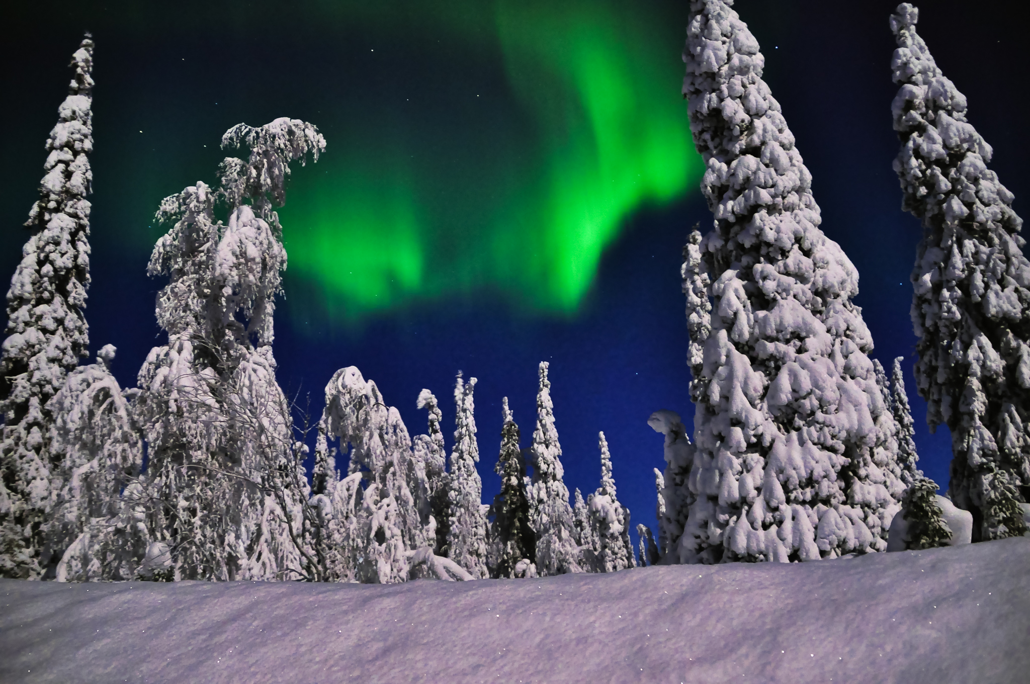 Northern Lights over Kuusamo