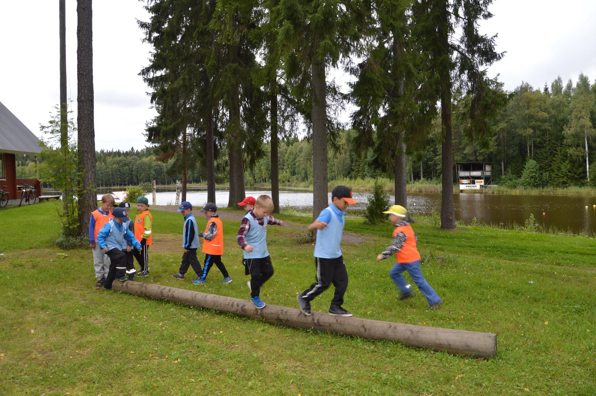 Outdoor team challenges