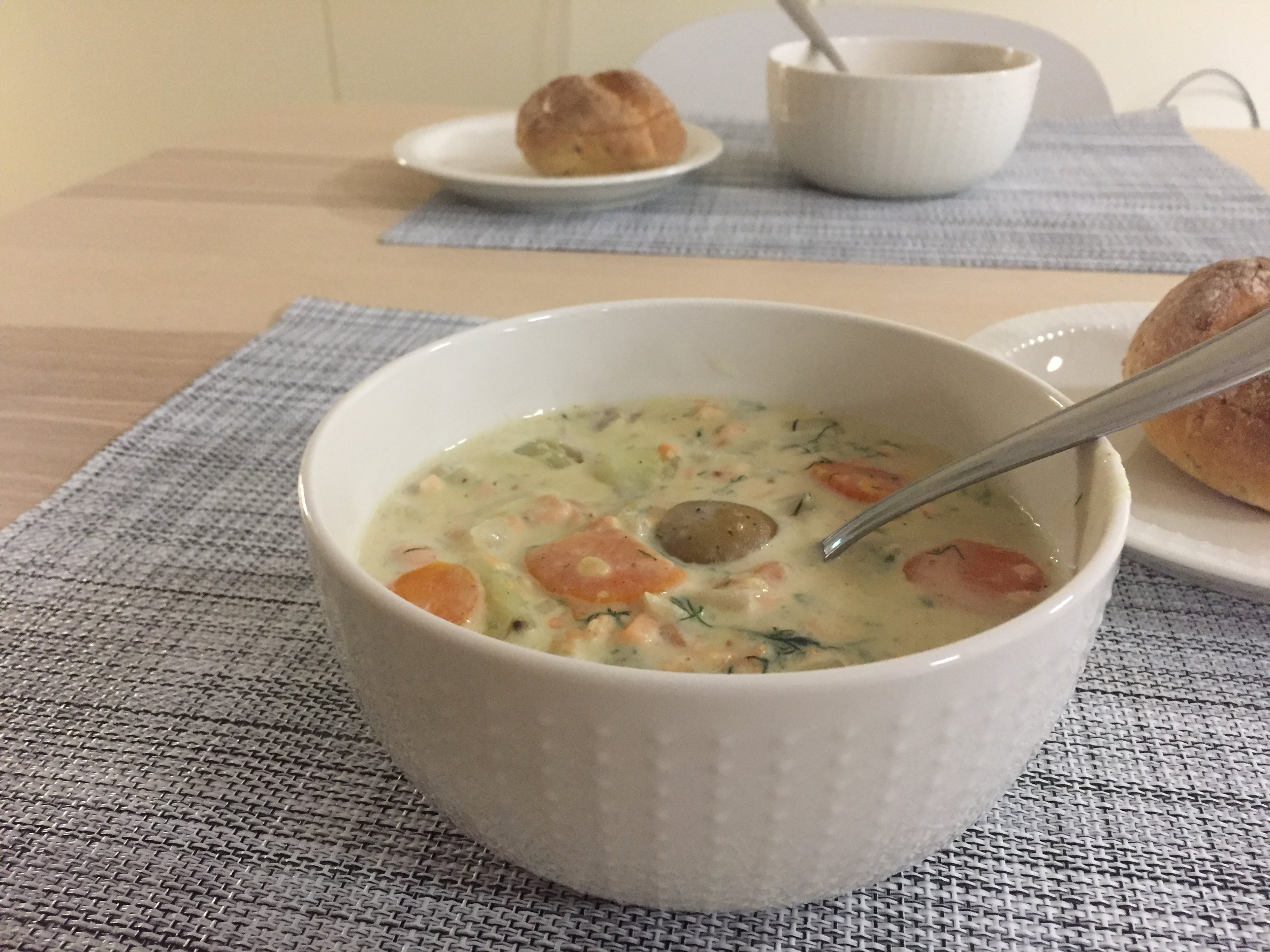 Salmon soup_Adventure Apes Lodge_Kuusamo.jpg