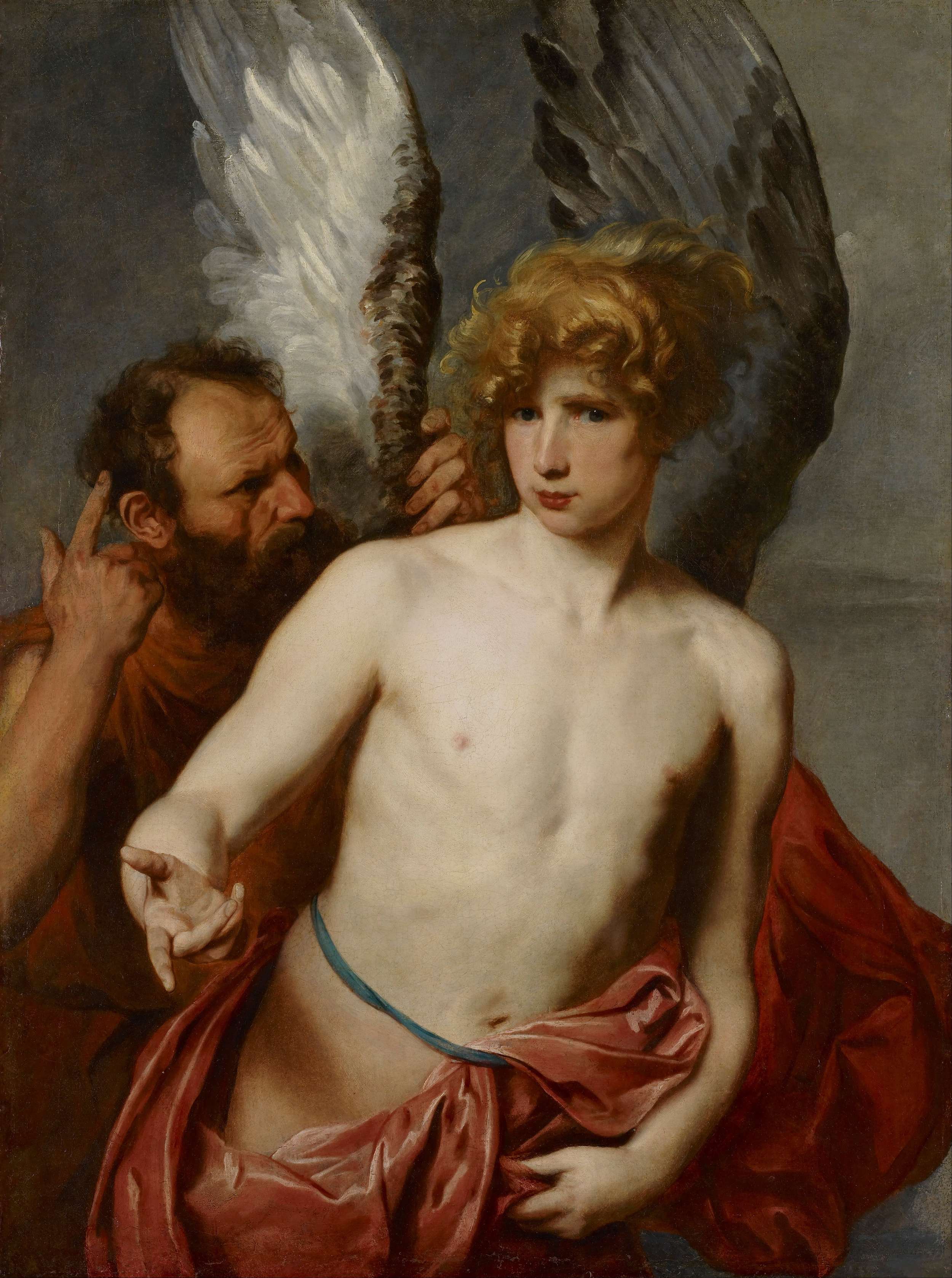 Daedalus and Icarus by Anthony Van Dyck; Wikimedia Commons
