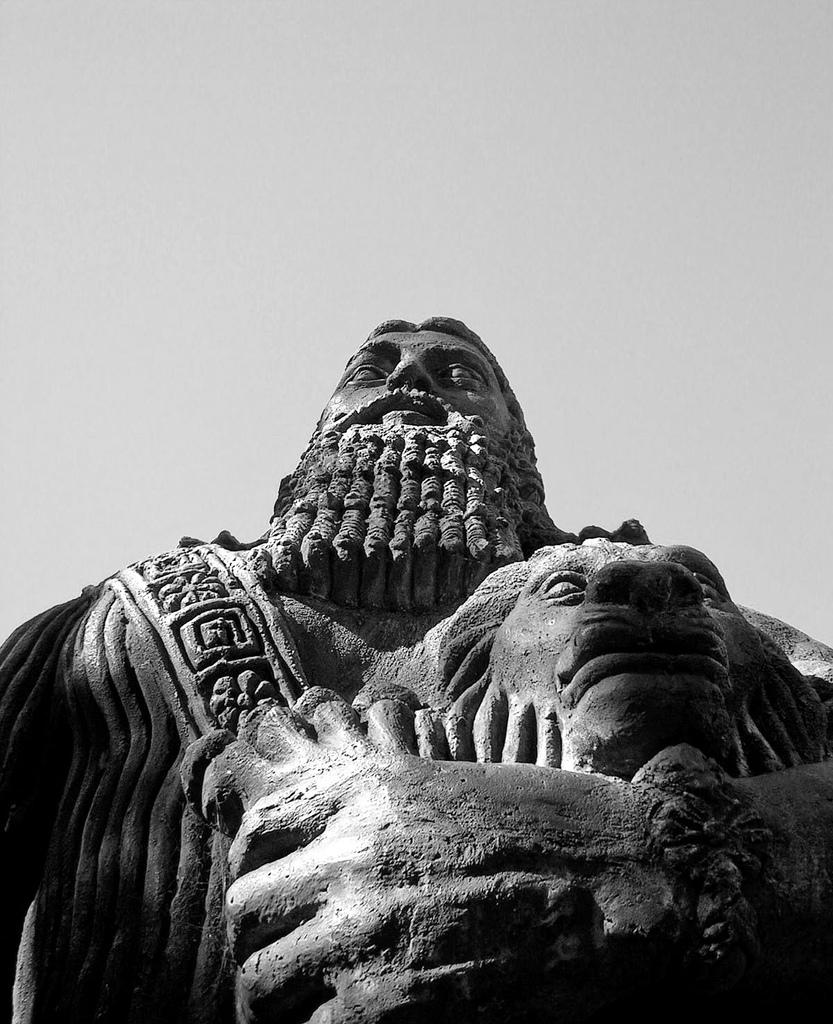 Gilgamesh by Samantha from Indonesia; Taken at Sidney University on 6 July, 2006; via Wikimedia Commons