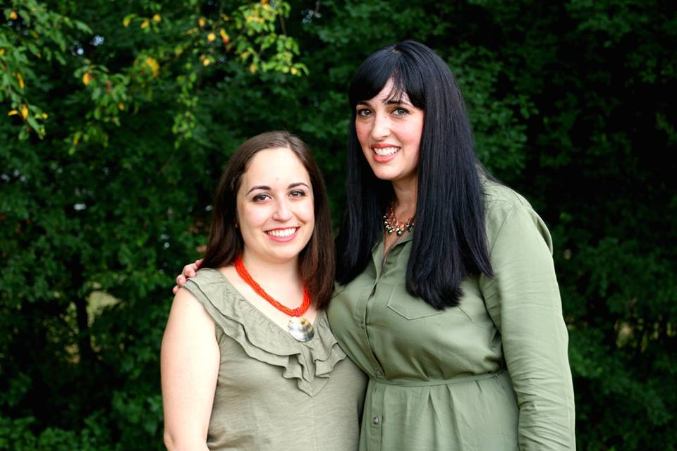 Sisters Semrin Aleckson (Customer Development Manager)and Michelle Drouse (COO of State of Place)