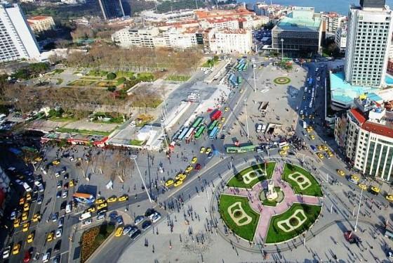 Taksim Square. Source: Green Prophet