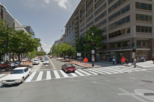 Example of block in Downtown DC