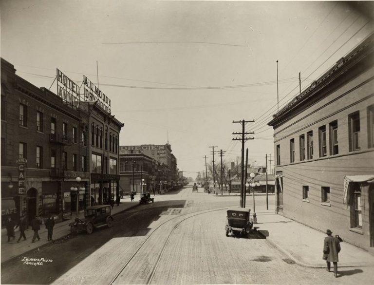 Main Ave 1922, Fargo, ND