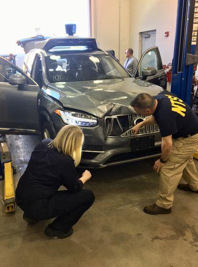 Autonomous uber car involved in fatal traffic accident