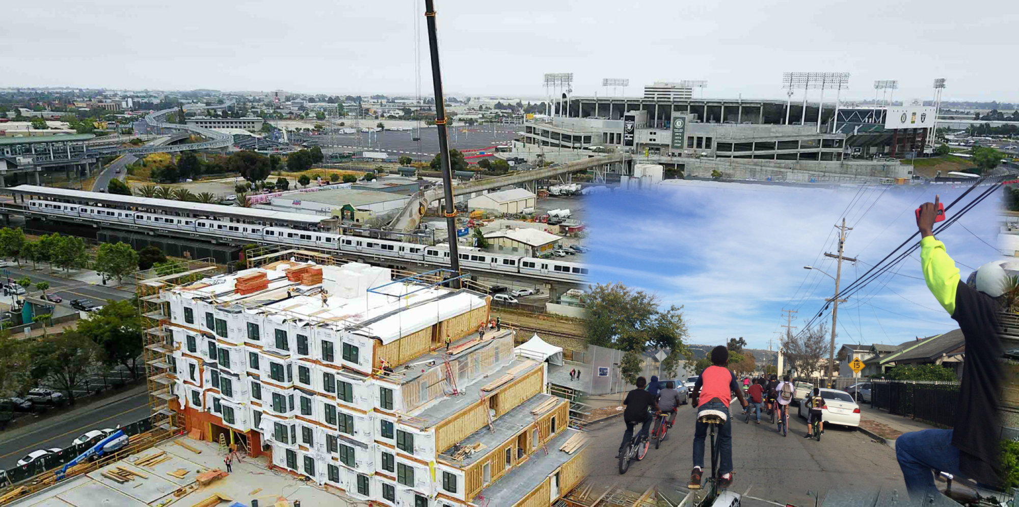 The changing Coliseum neighborhood of Oakland, CA, where representation of everyone is crucial.