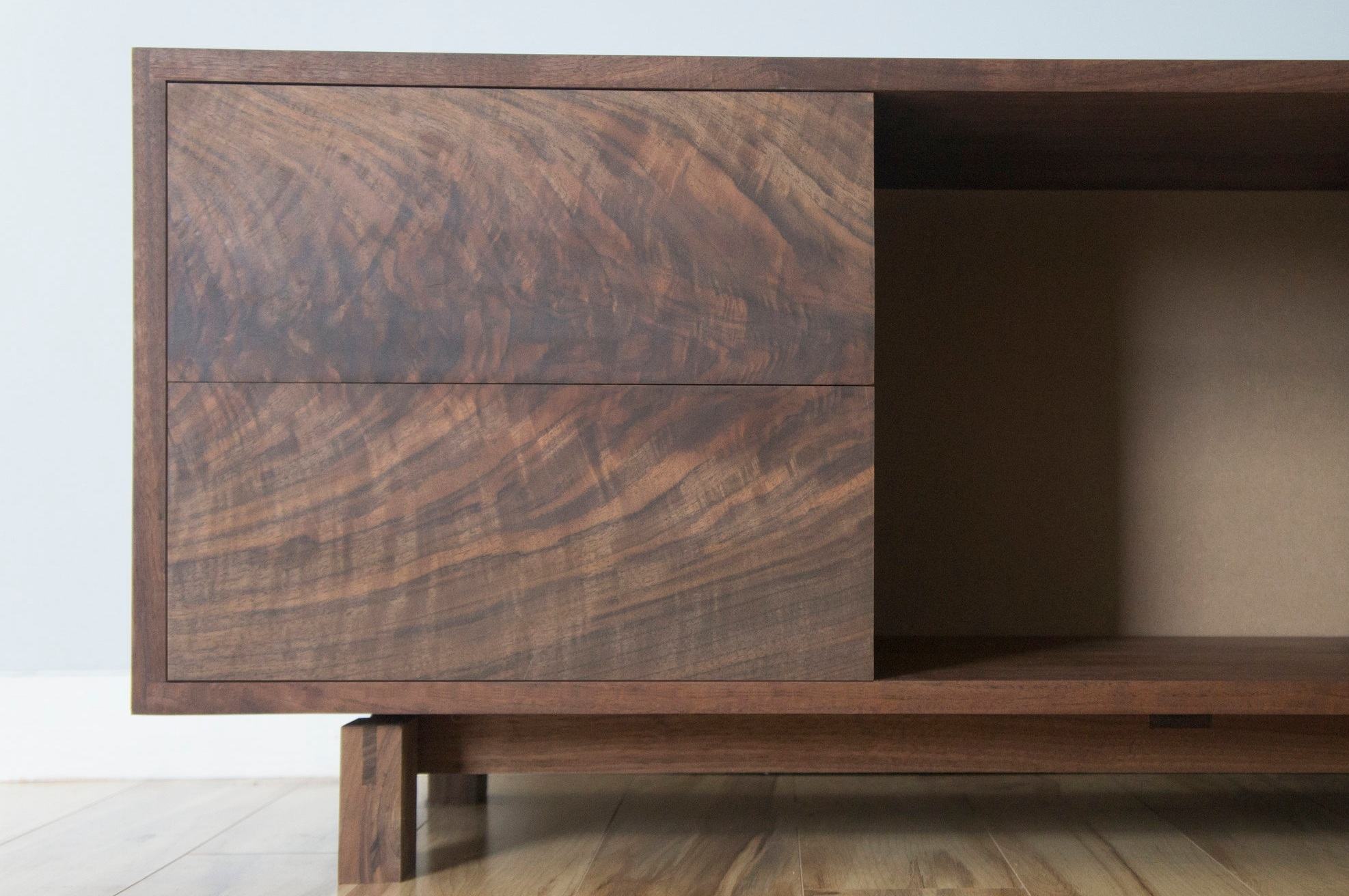 Picture console-walnut-front elevation-close up.jpg