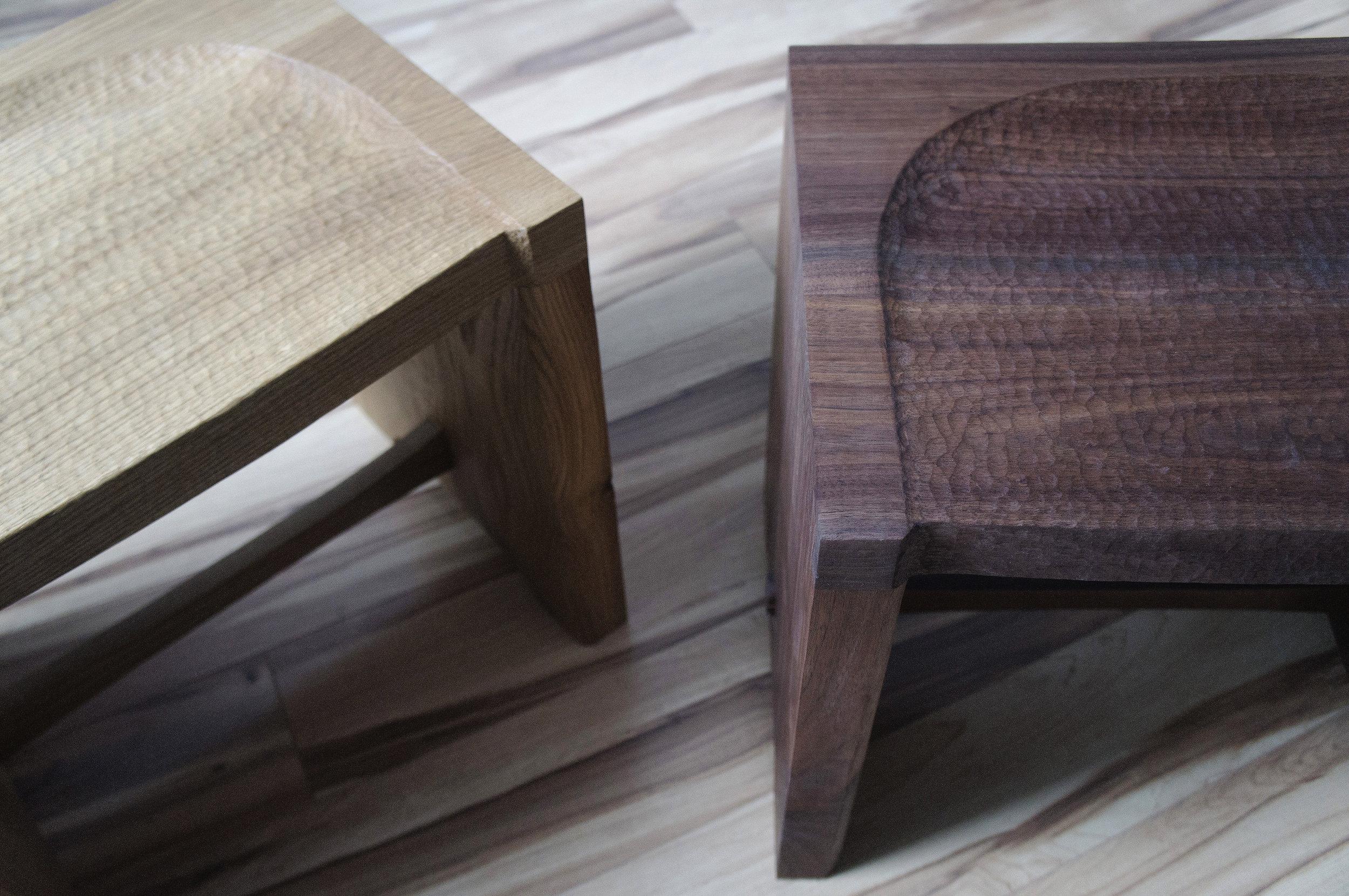 Mizu stools_SONY NEX_photos for website_mizu stool oak and walnut top angle close up.jpg