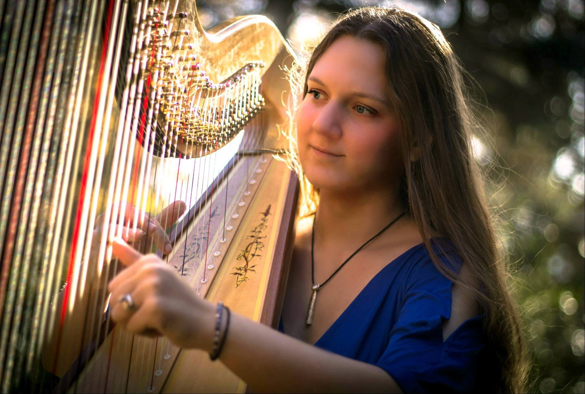 Michigan Harpist