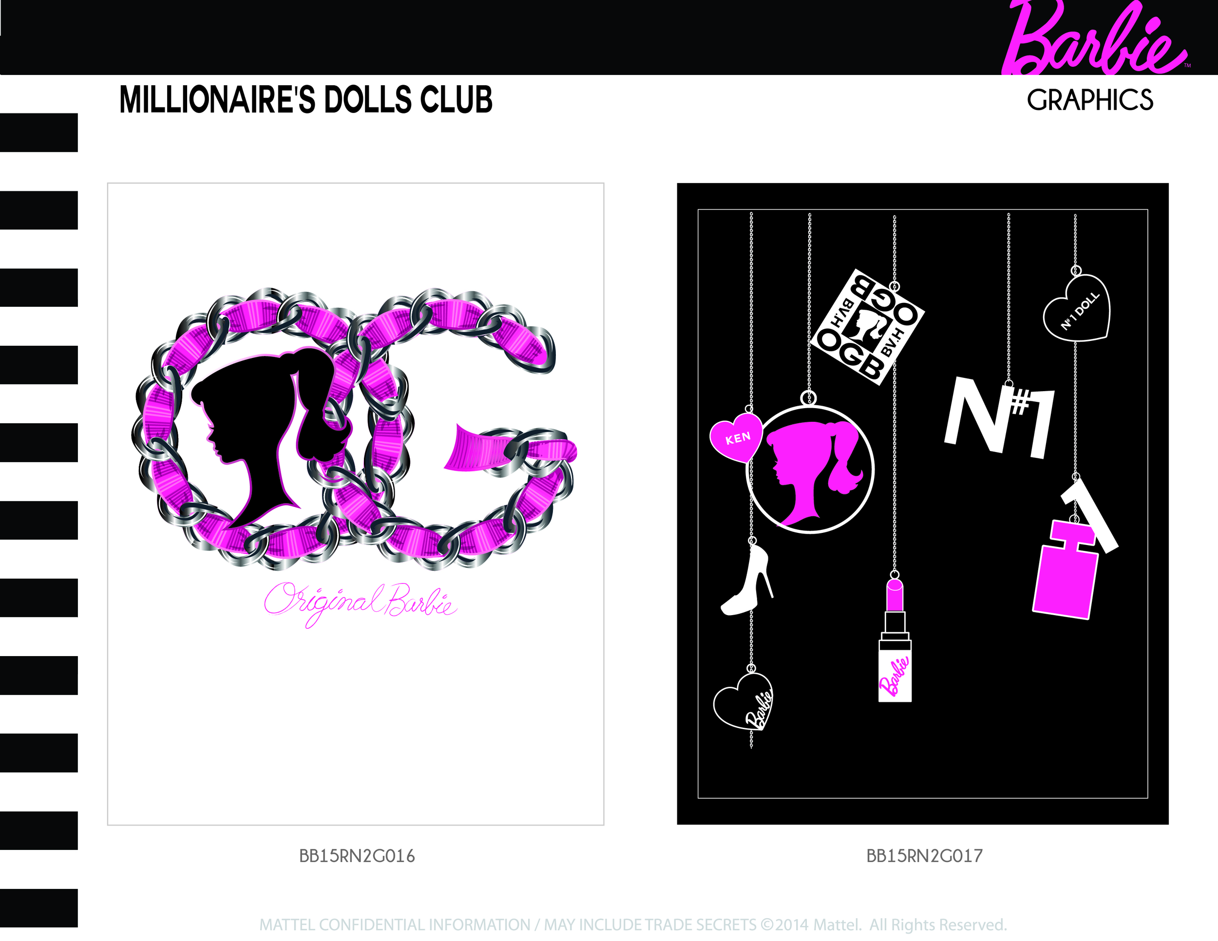 Millionaire's Dolls Club Graphics 5-6