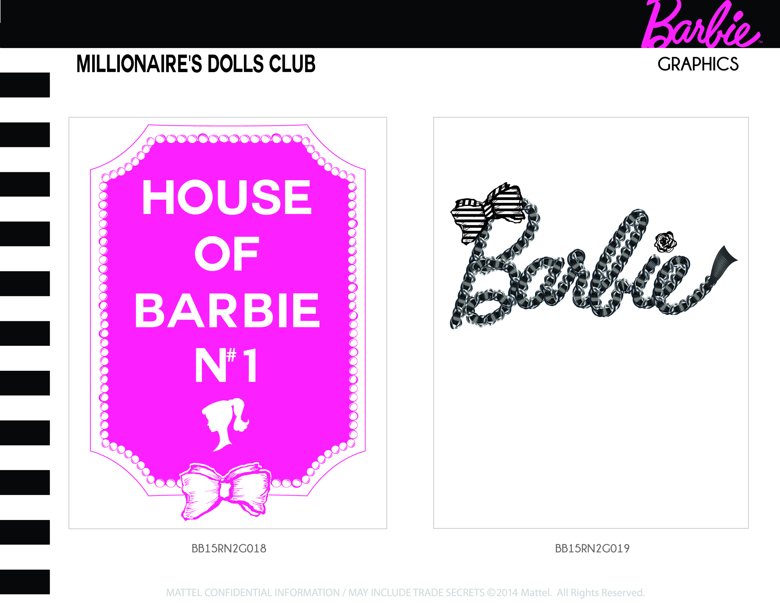 Millionaire's Dolls Club Graphics 1-2