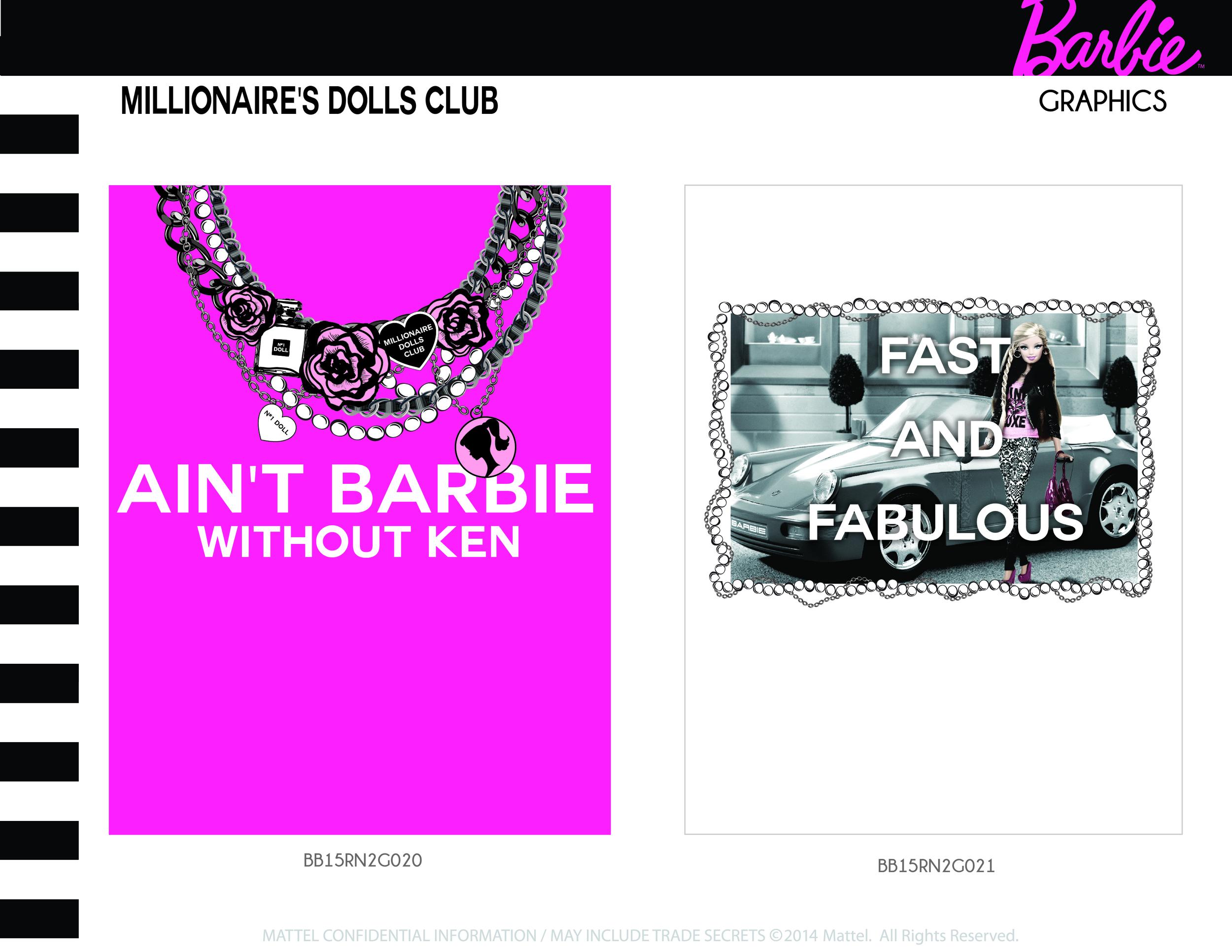Millionaire's Dolls Club Graphics 7-8