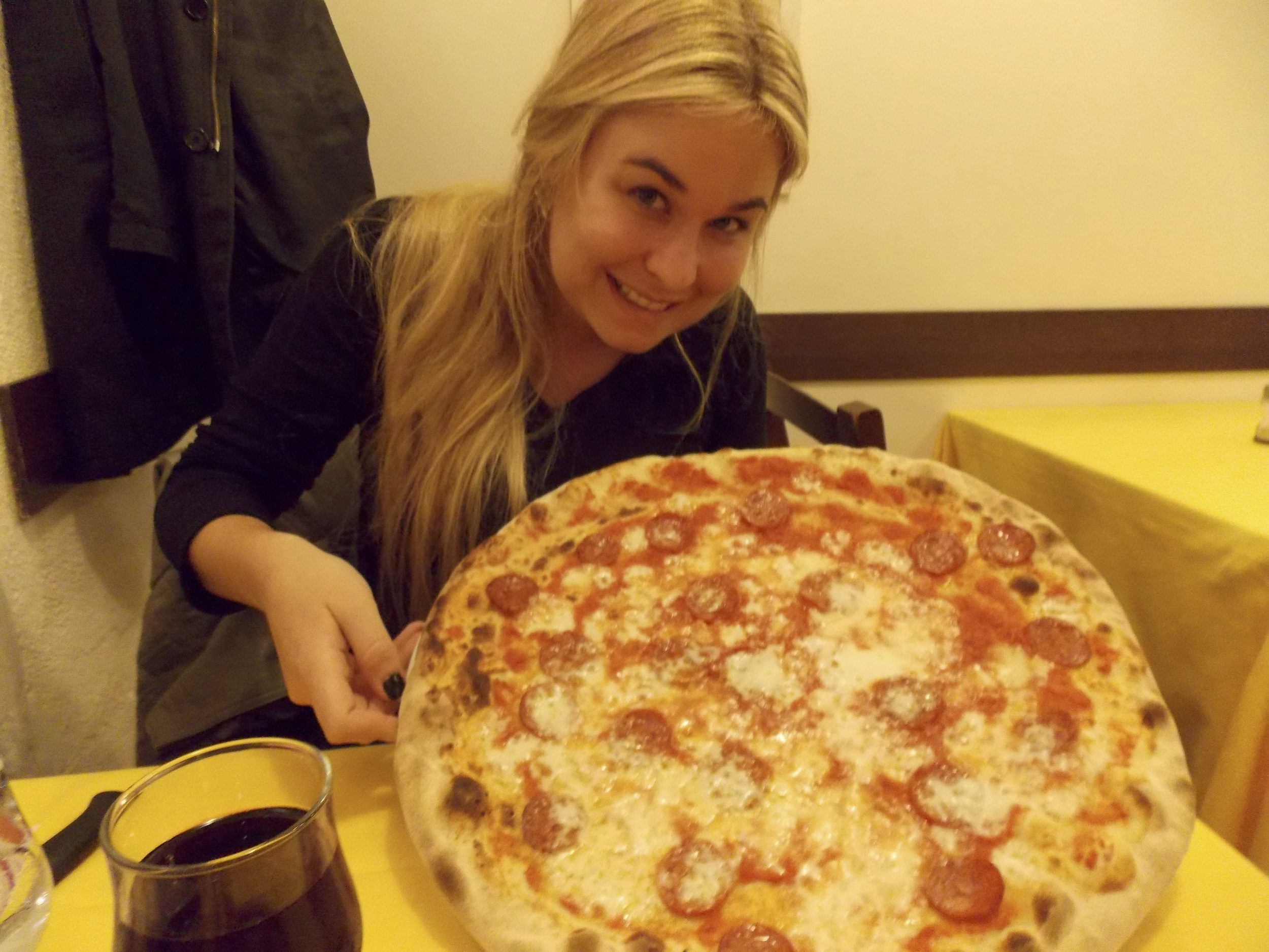 Pizza bigger then your head