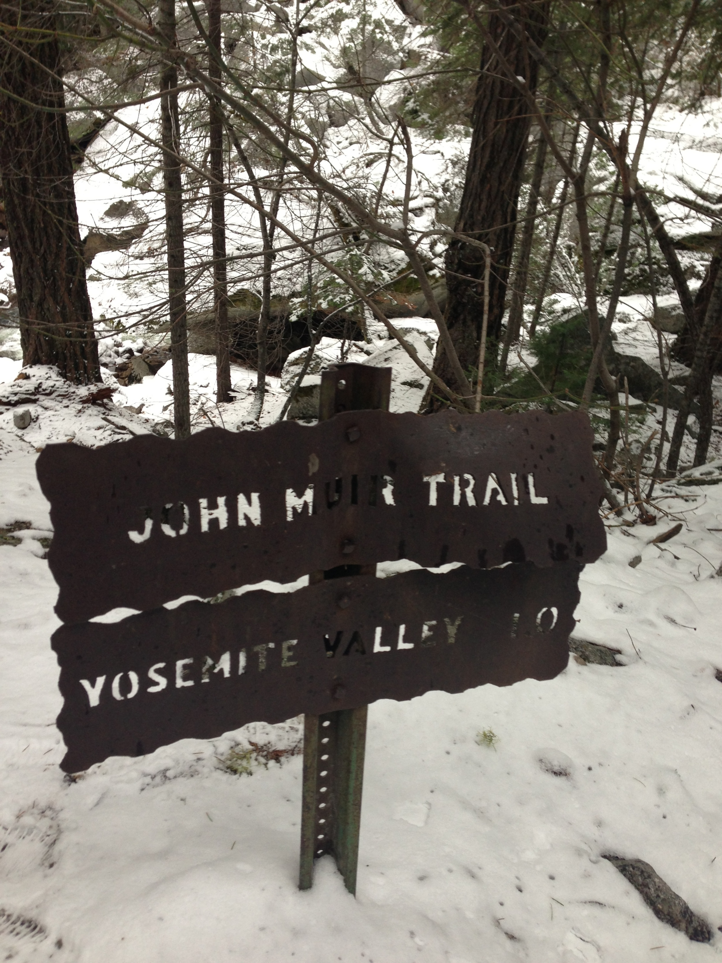 Sign of the John Muir Trail