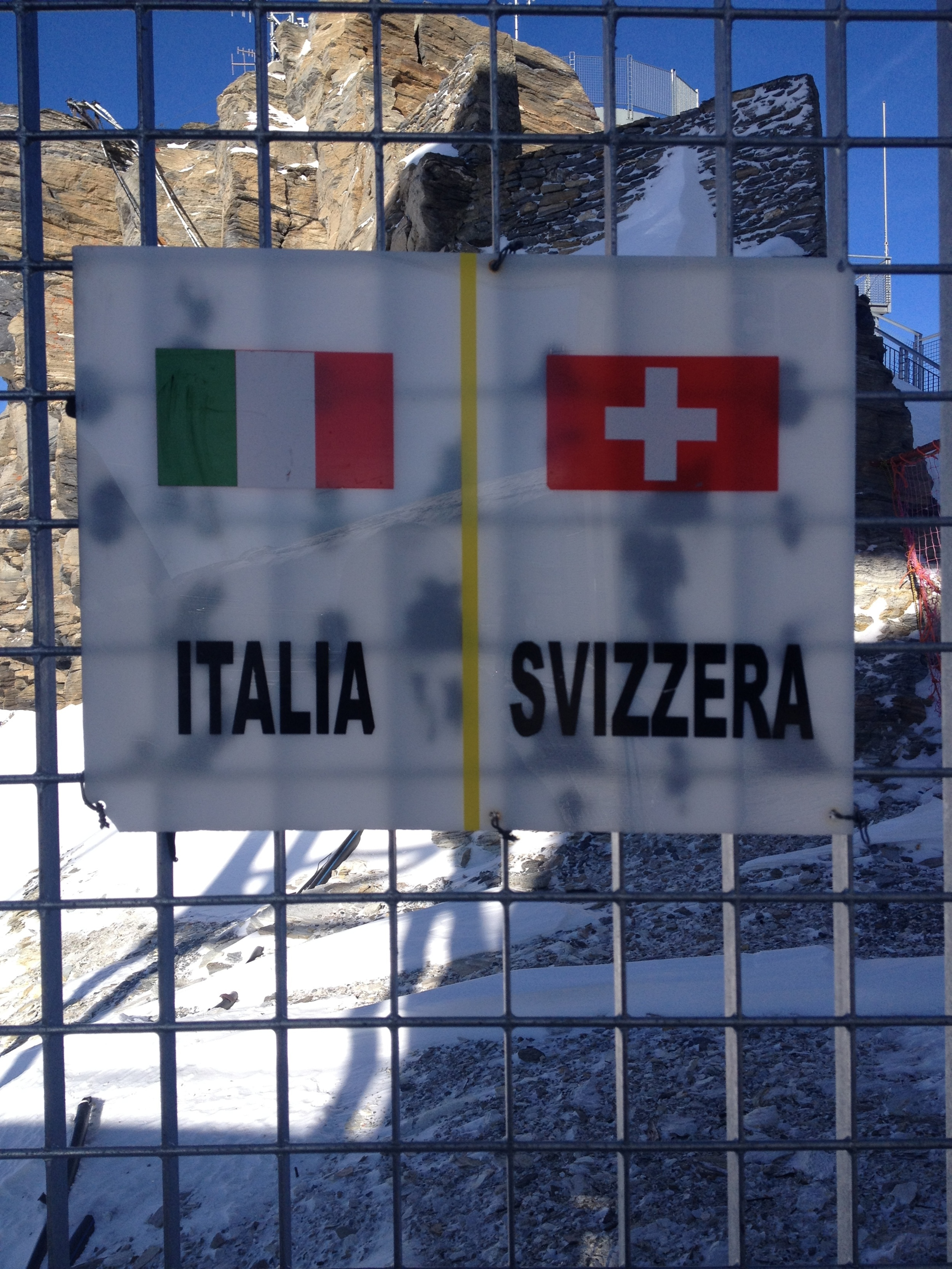 Ski from one country to the next