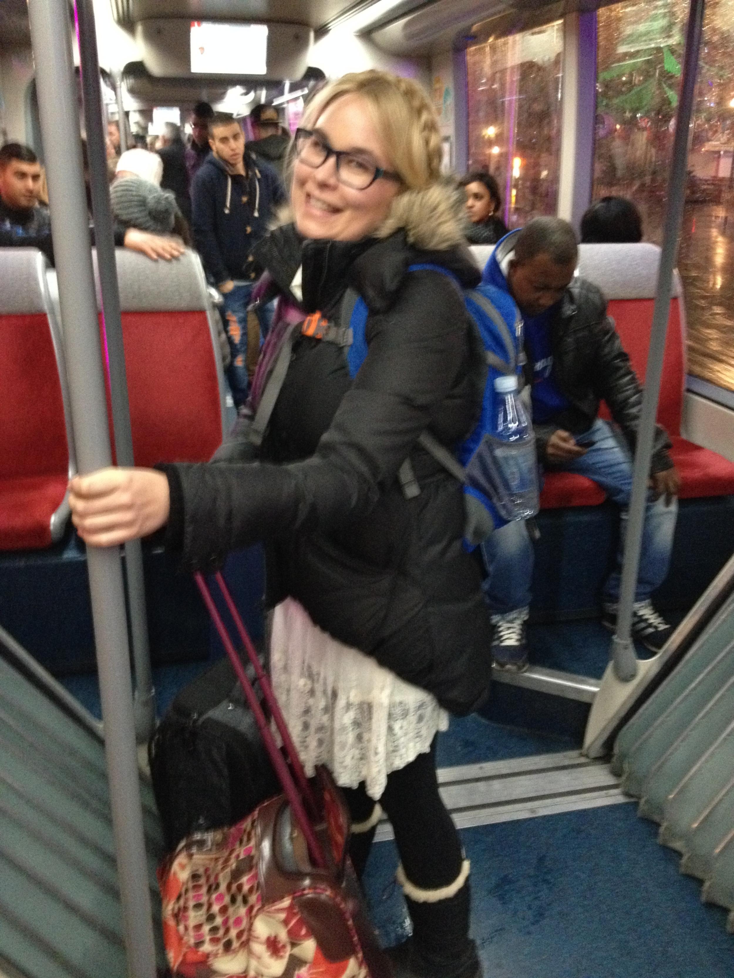 Train Ride to Zermatt