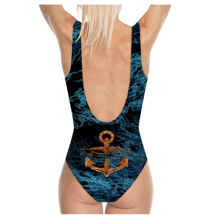 Flossie Anchor Swimsuit