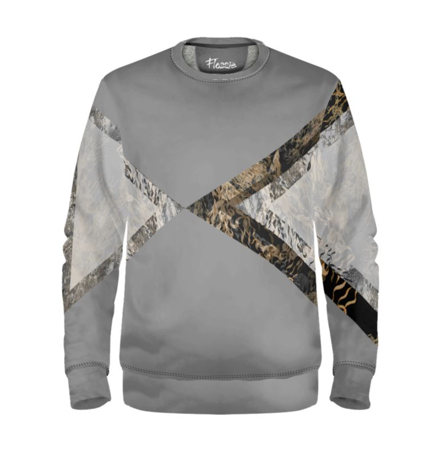 Flossie Cool Grey Rift Sweatshirt