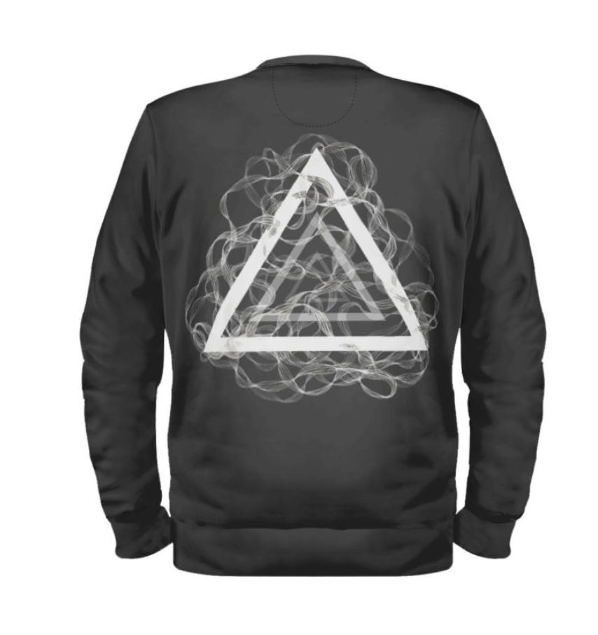 Dark Charcoal Zentangle Sweatshirt
