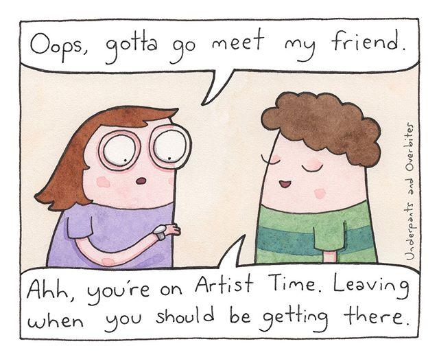 Aw dang, not again 🎨✏️⏰ #alwayslate #webcomics