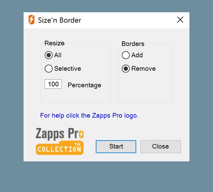 Remove Borders