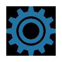 User Training Icon - Gear