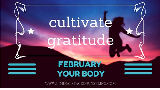 gratitude challenge liminal space counseling