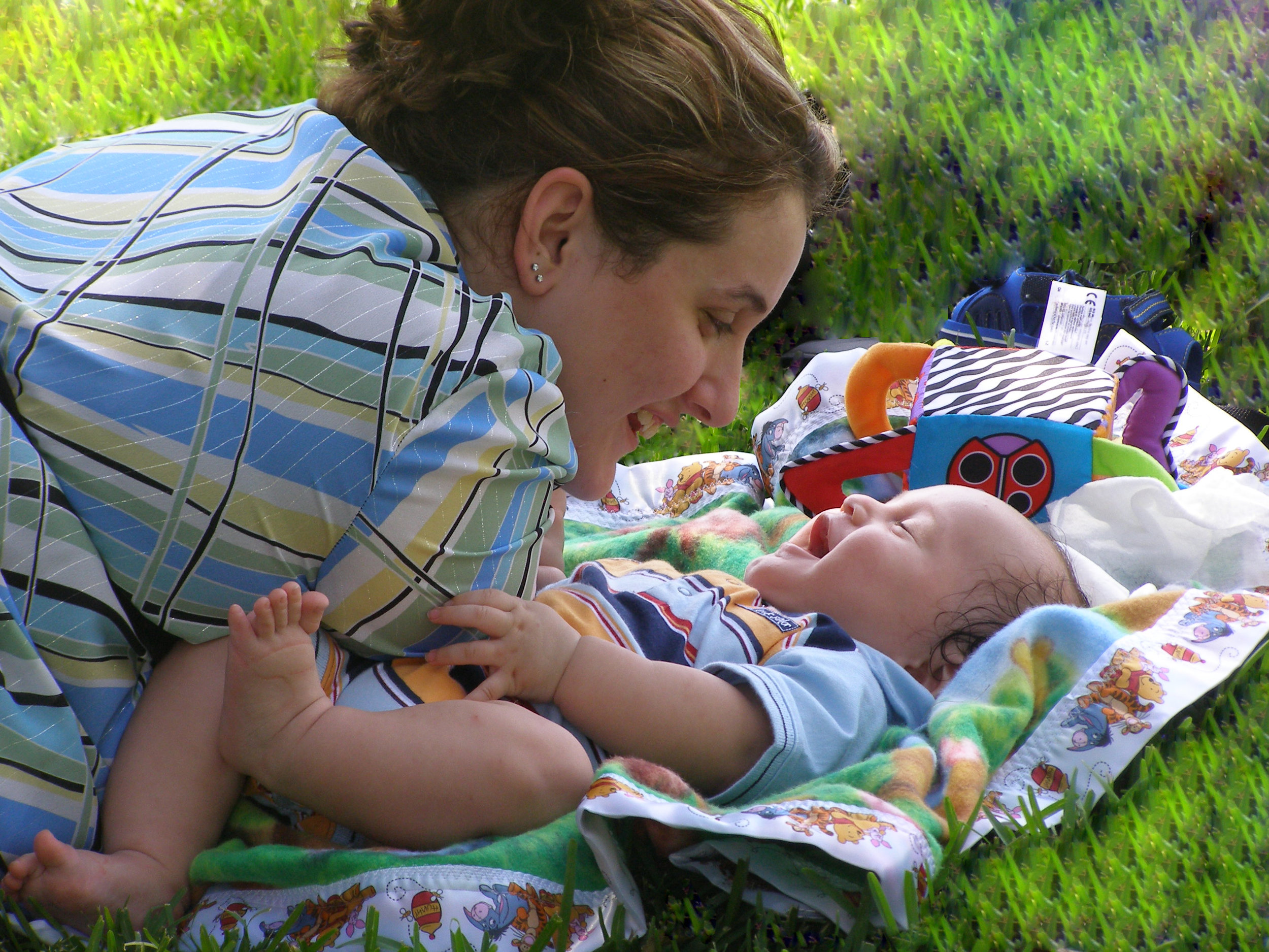 baby blues vs. postpartum depresion