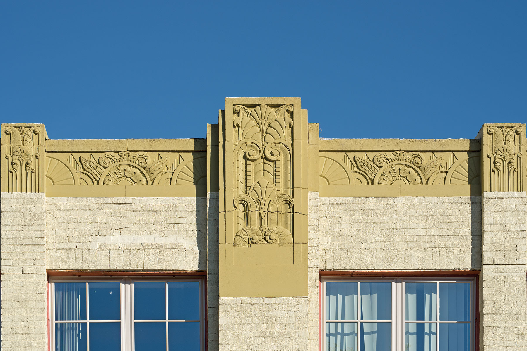 Detail, Jenkins-Harvey Super Service Station, Tyler