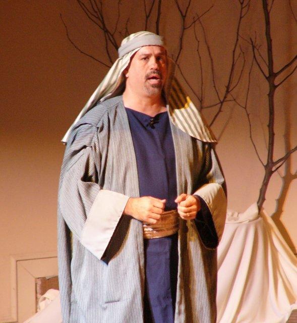 Joseph singing about his 'foolishness' as Jesus' stepdad