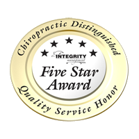 Five Star Chiropractic Distinguished Quality Service Honor