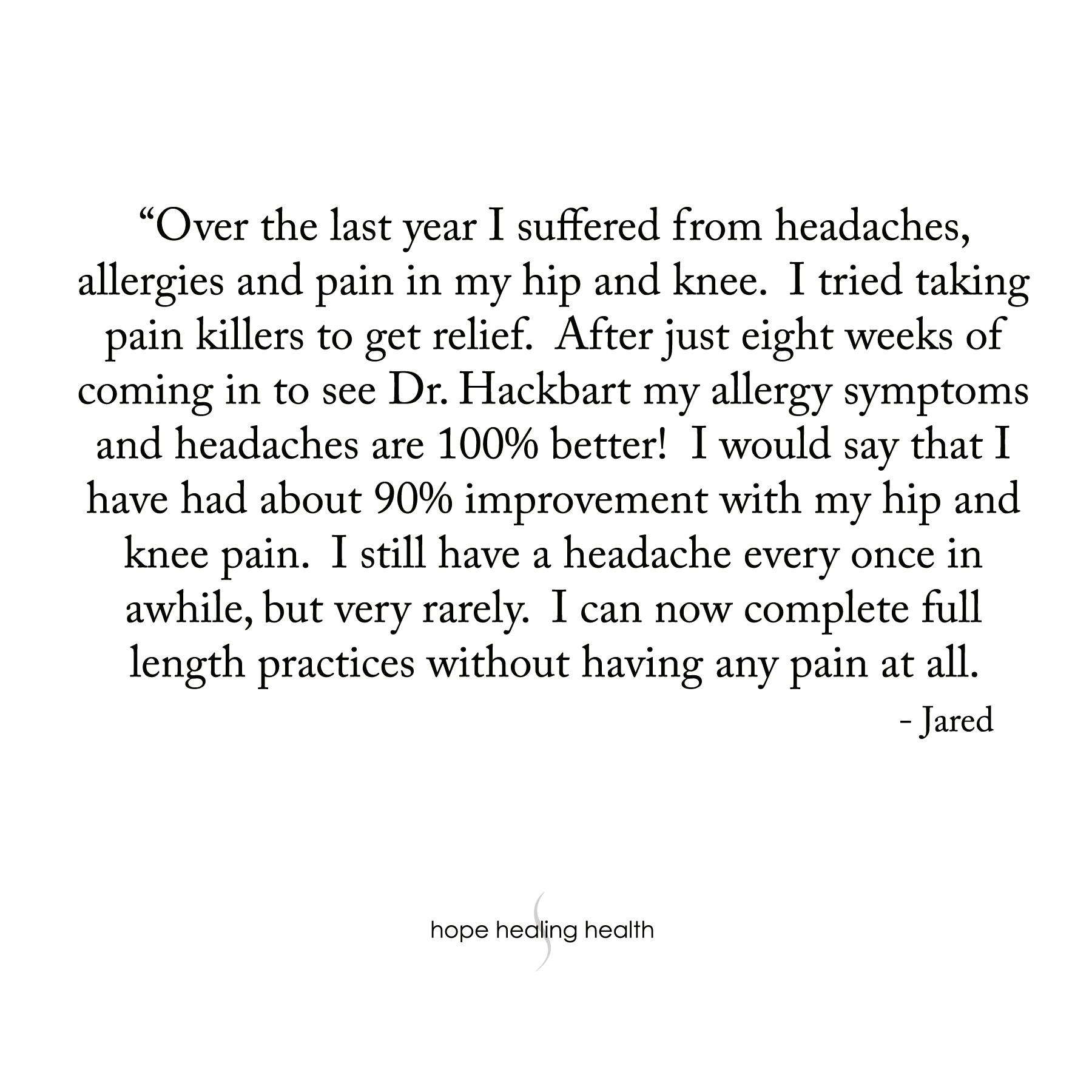 Headaches & Allergies