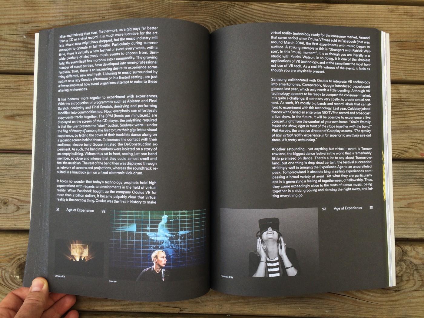 Een foto van het Electronic Trend Report by Hello Bank. A book made by Trendwolves.