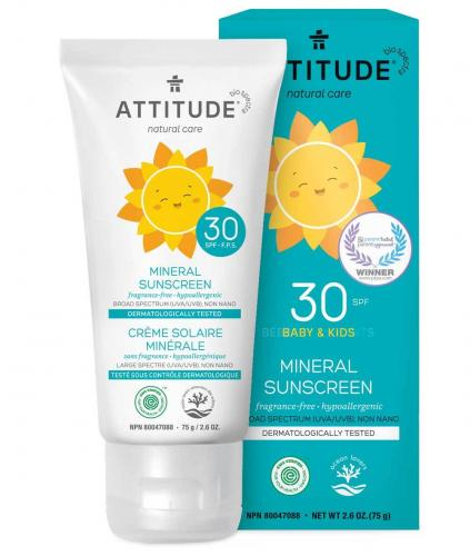 natural sunscreen for babies
