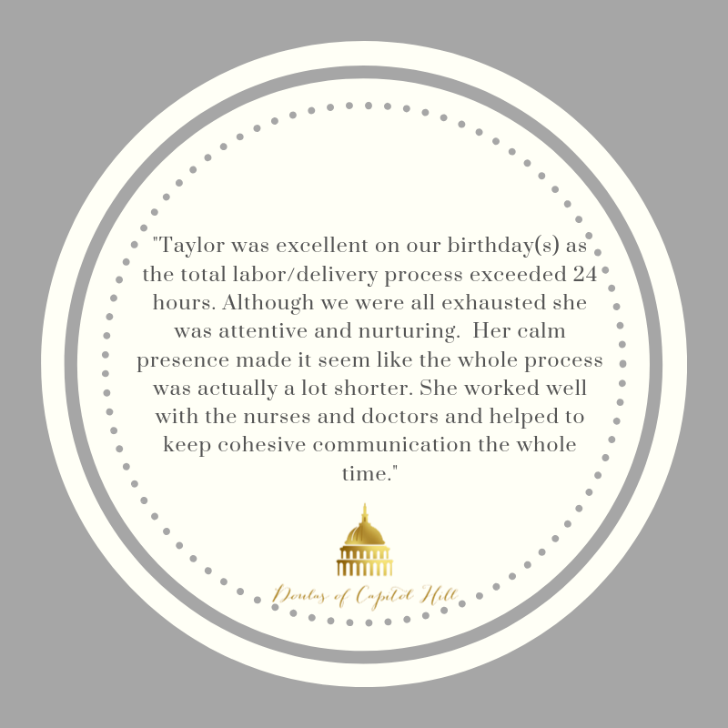 Taylor Lichtman birth and postpartum doula