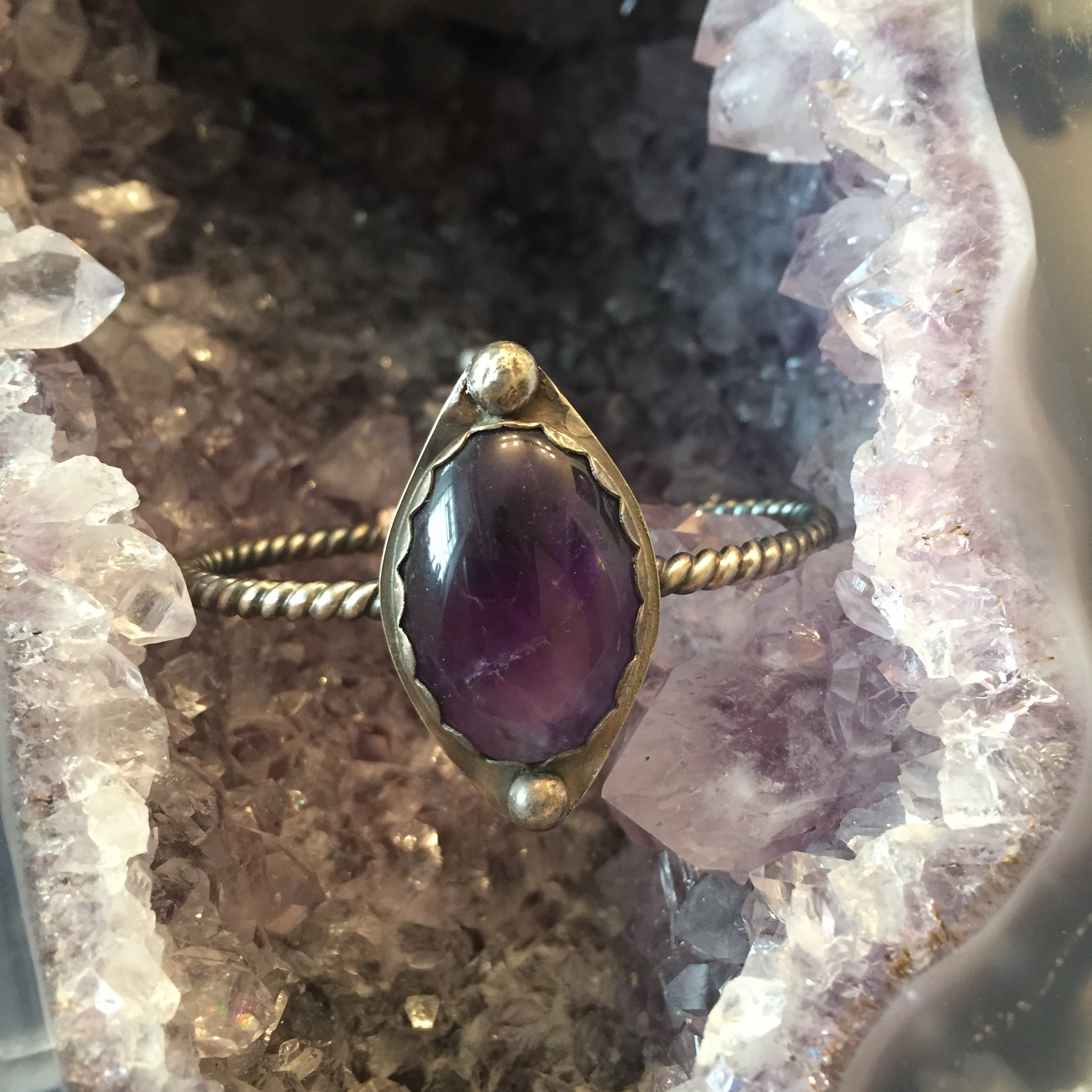 Lightly tumbled Amethyst | Healing | February birthstone | Soothing